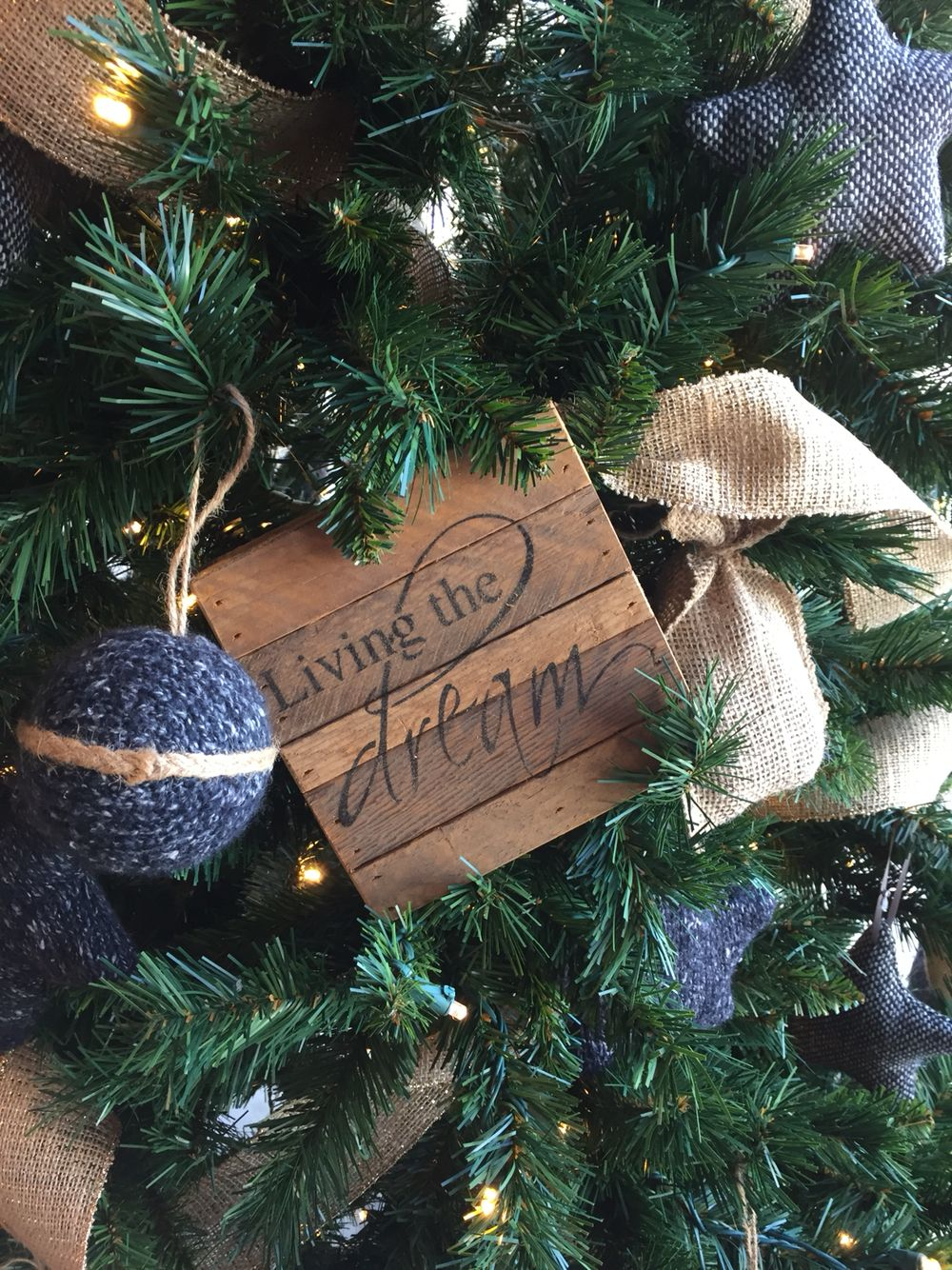 Try something different in your tree this year. Inspiration signs ...