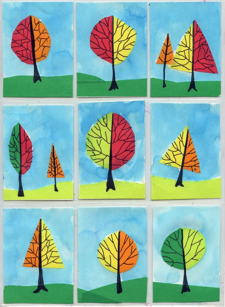 Elementary Fall Art Projects For Kids