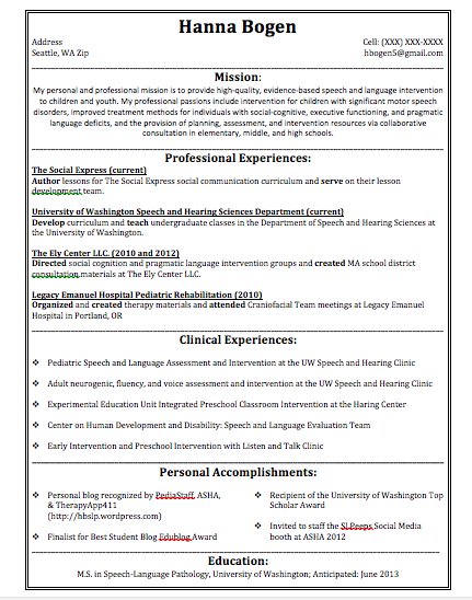 78 Best Images About Resume On Pinterest   High School Resume
