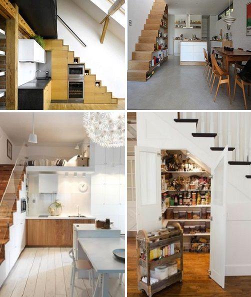Pode Fazer Uma Despensa Embaixo Da Escada Na Cozinha