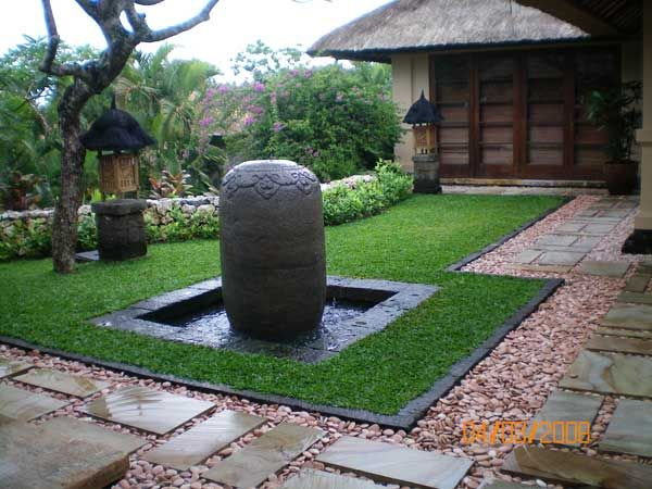 interesting use of textures and materials lorategia SEO - jardines en terrazas