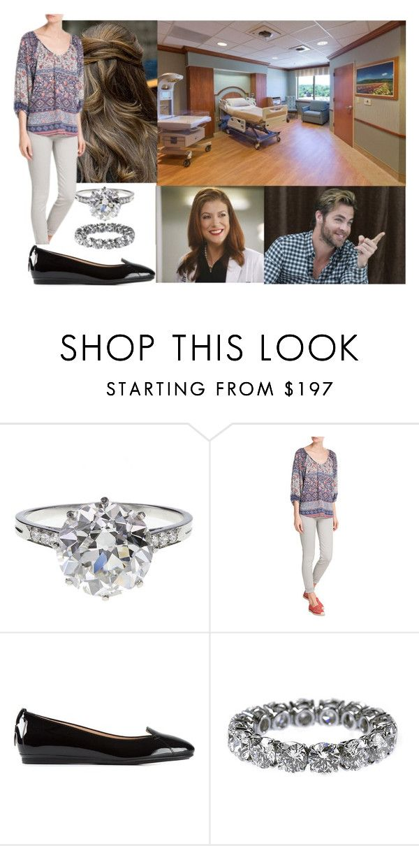 """Visiting her doctor and discovering that she is eight weeks pregnant"" by hanaofbelgium ❤ liked on Polyvore featuring Boucheron and Tod's"