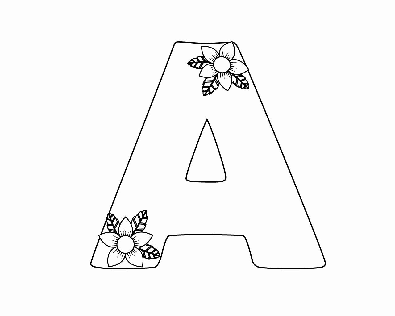Pin By Sherry Stephan On Alphabet Lettering Printables Letter A Coloring Pages Coloring Pages Printable Alphabet Letters