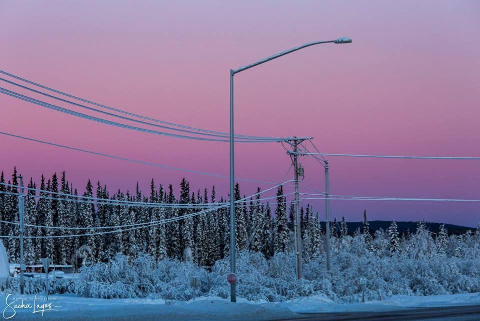Belt of Venus Alaska, National parks, Thunderbird high