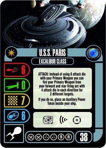 U.S.S Paris, Excalibur Class