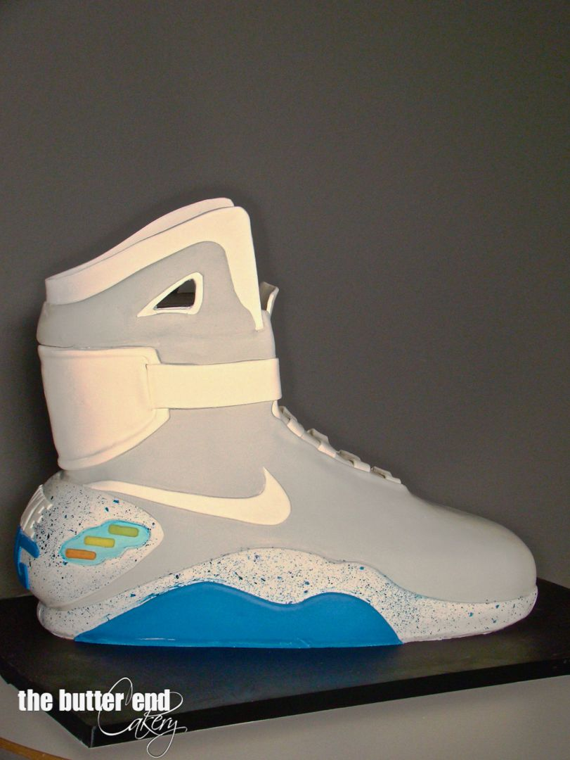Nike Mag Back To The Future Birthday Cake Nike Mag Sneakers