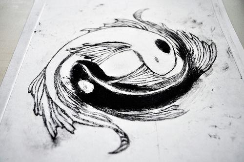 avatar koi fish yin yang tattoo - Google Search