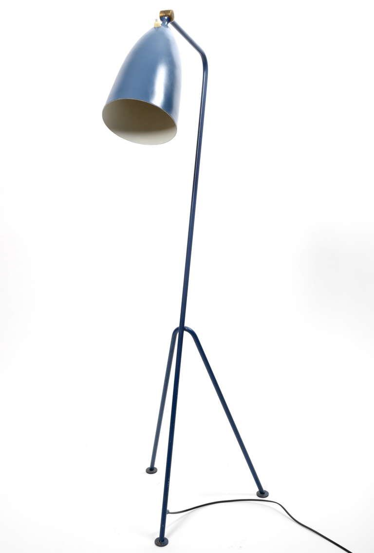 Grasshopper, Floor Lamp by Greta Magnusson Grossman for Bergboms, Sweden, 1950's | From a unique collection of antique and modern floor lamps  at http://www.1stdibs.com/furniture/lighting/floor-lamps/
