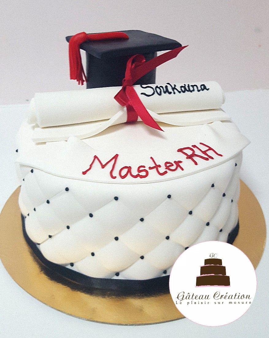 Gâteau remise de diplome afin de féliciter un de vos proches. Optez pour  une pâtisserie