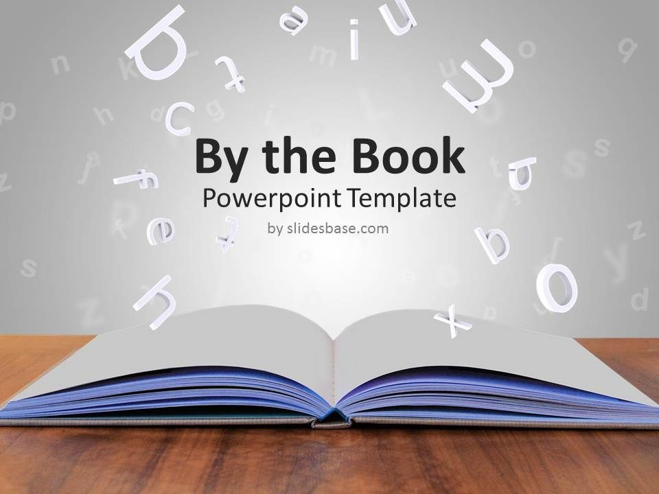 Book Template Powerpoint Book Template Powerpoint The Book