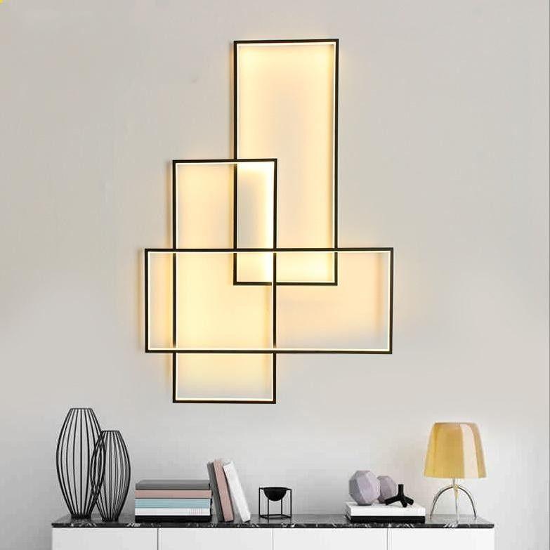 3 Light Linear Wall Light Flush Mount Lighting Lamp Ambient Light 85 265v Led Light Source Included Wall Lamps Living Room Lamps Living Room Sconces Living Room