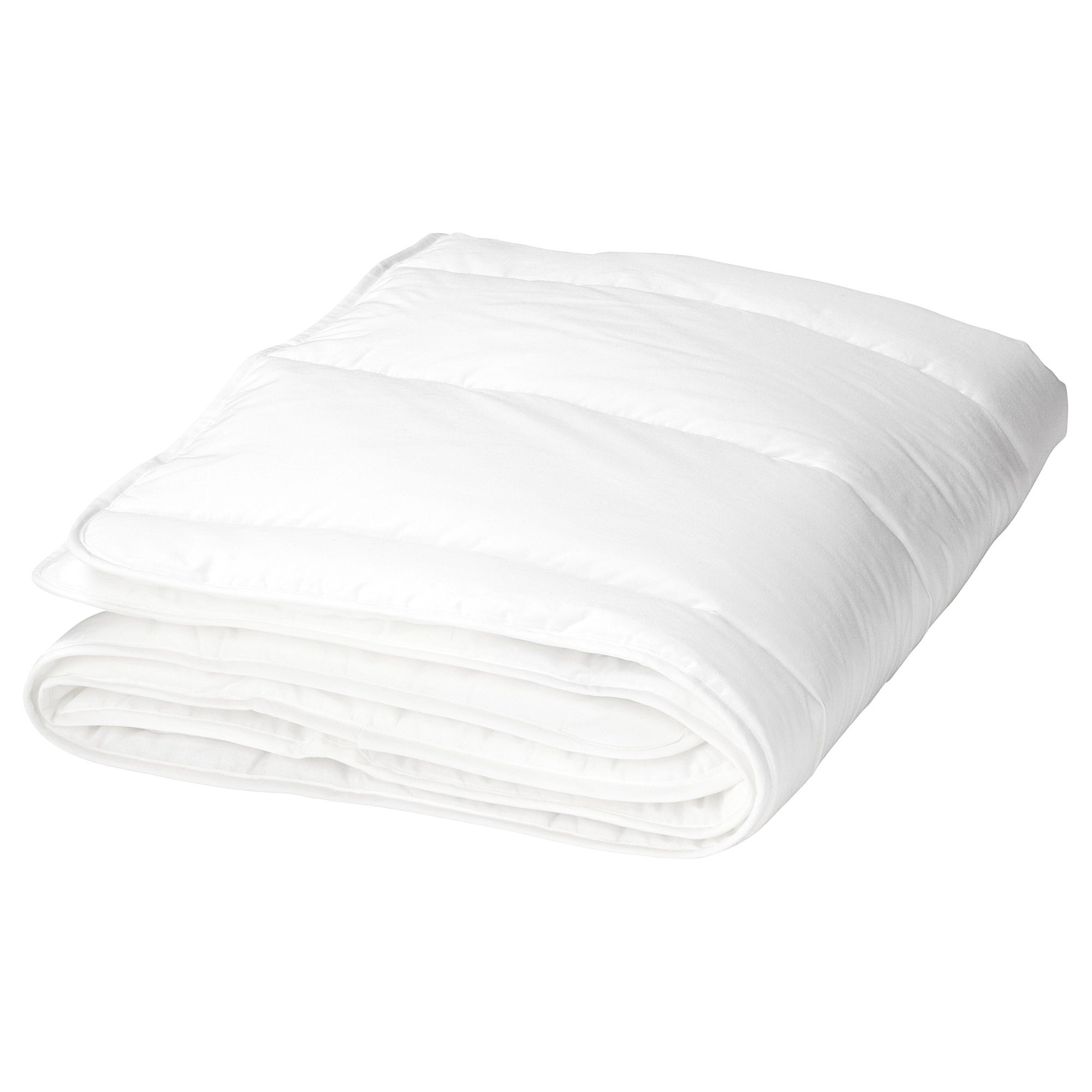 LEN Crib comforter, white, 43x49 - IKEA