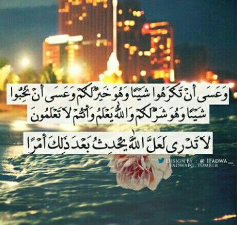 لا تدري لعل الله يحدث بعد ذلك أمرا Quran Holy Quran Allah Love