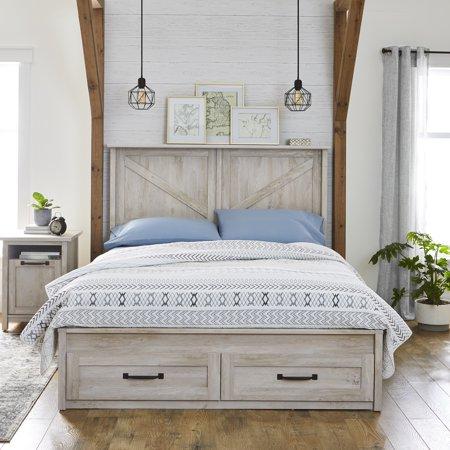 Home in 2020 Bed frame with storage, Best platform beds