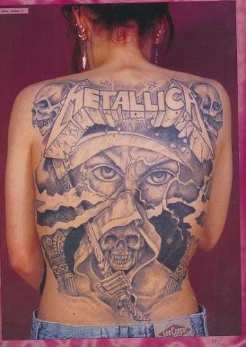d574faa420a3f Metallica tattoo | Awesome tats! | Metallica tattoo, Metallica, Tattoos