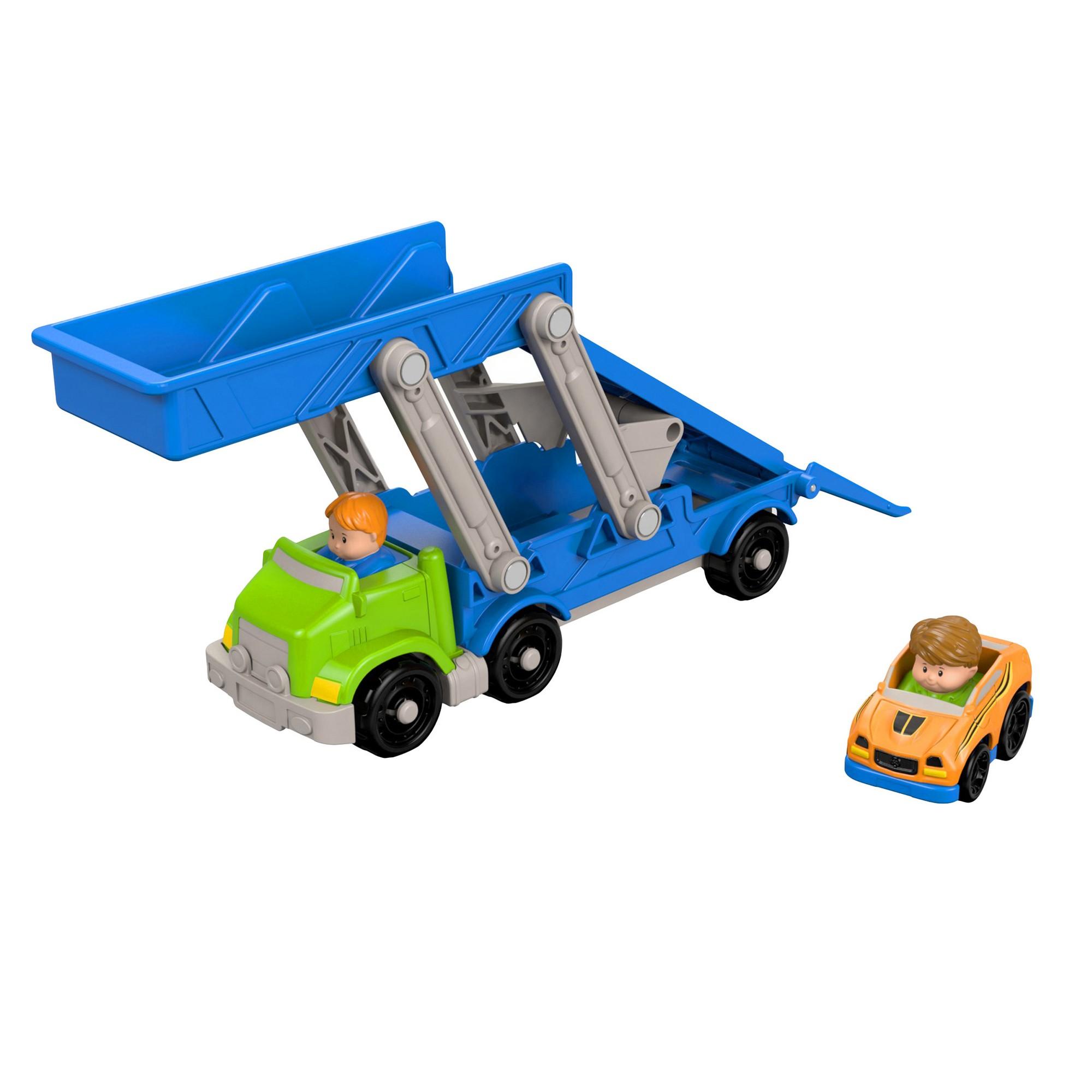 Little people car toys  FisherPrice Little People Ramp un Go Carrier  Products  Pinterest