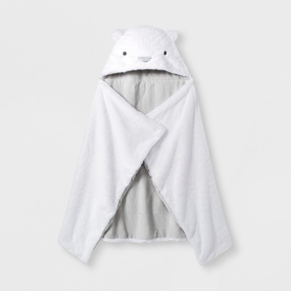 Polar bears have no problem with a chill and neither will your little cub  when you have the Polar Bear Hooded Towel from cloud island to snuggled  them up in ... 4e72c823d