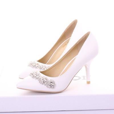 design de qualité a6593 ad546 Escarpins mariage strass   chaussures   Chaussure mariage ...