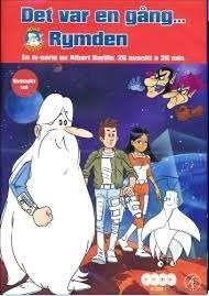Det var en gång: rymden [Videoupptagning] #dvd #film #barnfilm