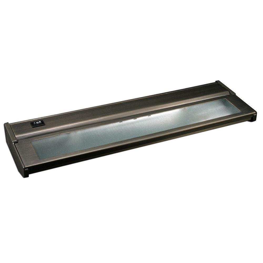 Dark Bronze 16-Inch Two-Light Xenon Under Cabinet Light