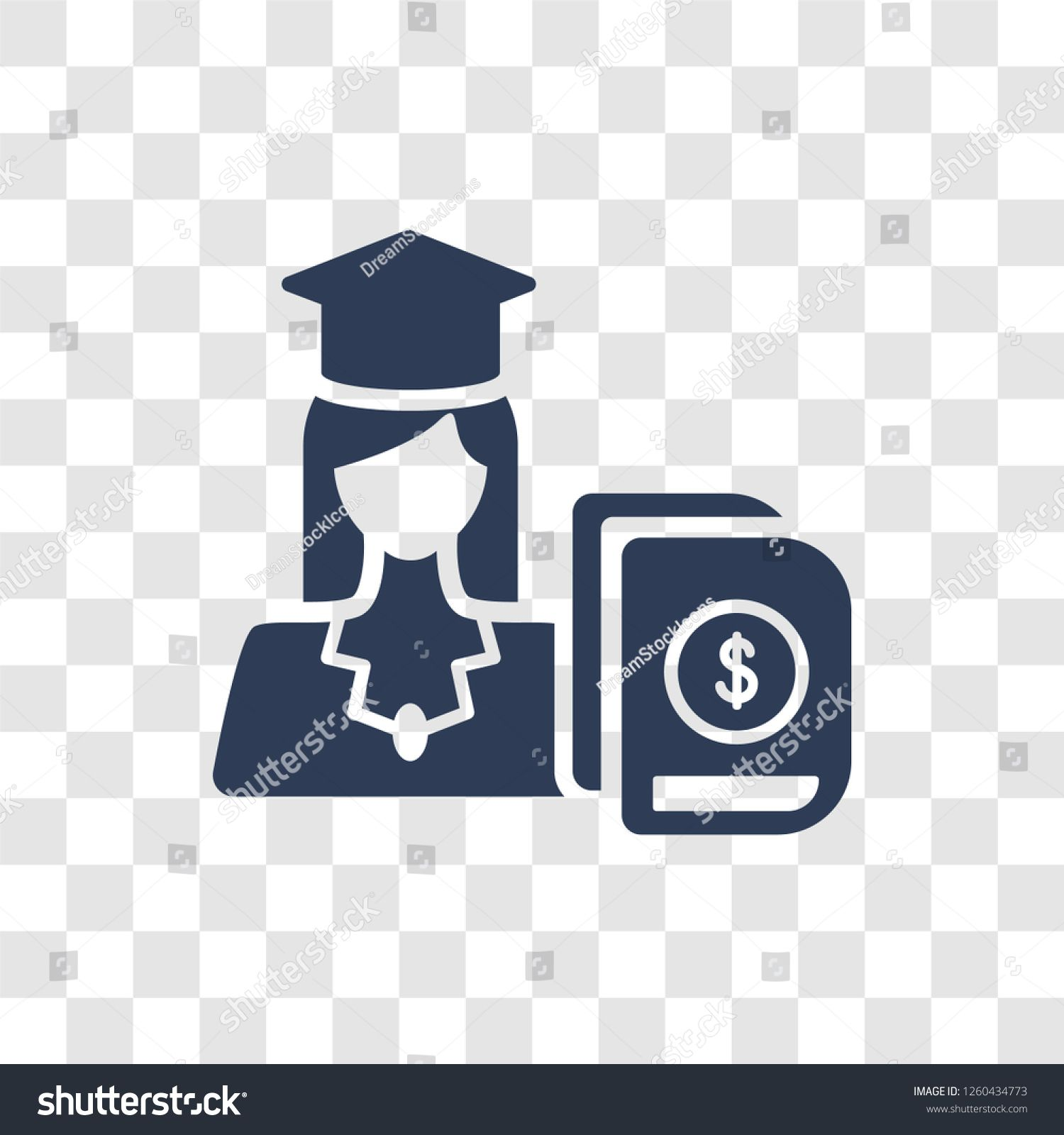 Business Education Icon Trendy Business Education Logo Concept On