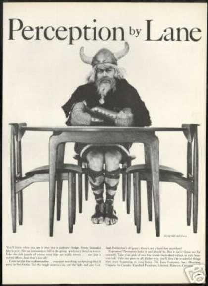 Vintage Furniture Ads of the 1950s . Lane Furniture Table Chair Viking  Photo Vintage (1959) - Vintage Furniture Ads Of The 1950s . Lane Furniture Table Chair