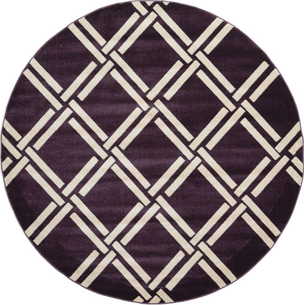 Inviting Modern And Sustainable C House By Studio Arthur: Trellis Purple Area Rug