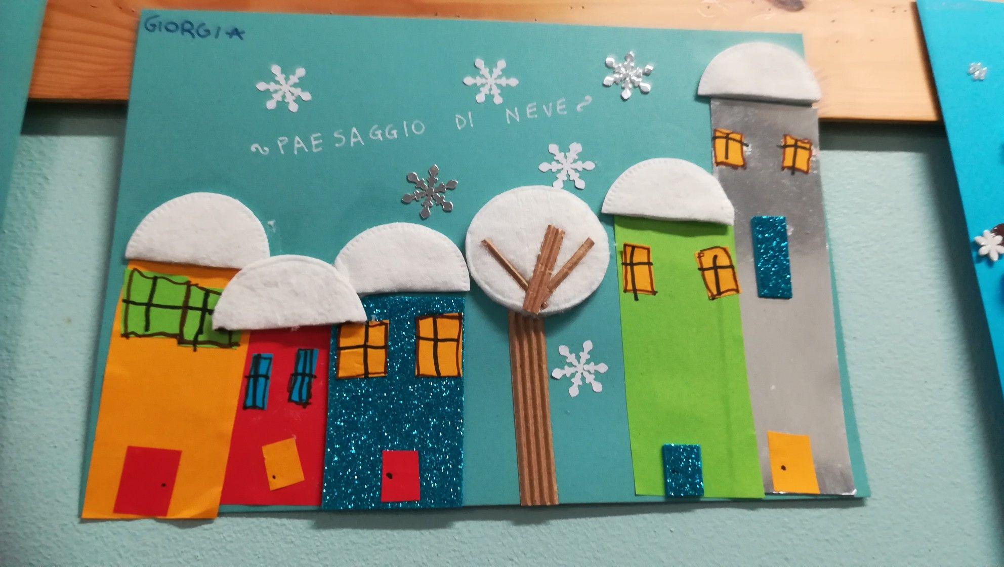 Decorazioni Invernali Scuola Dell Infanzia Materiale Sulla