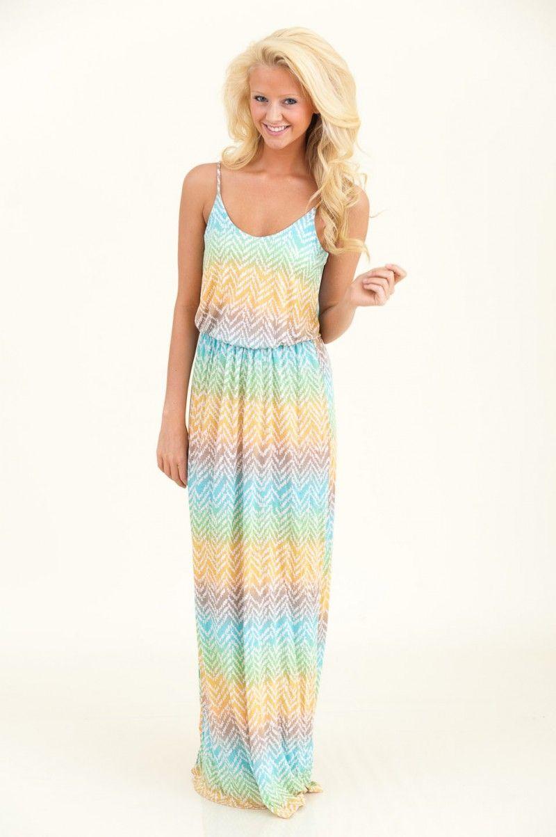 e0e3fb1d78c Almost Summer Maxi Dress-Green