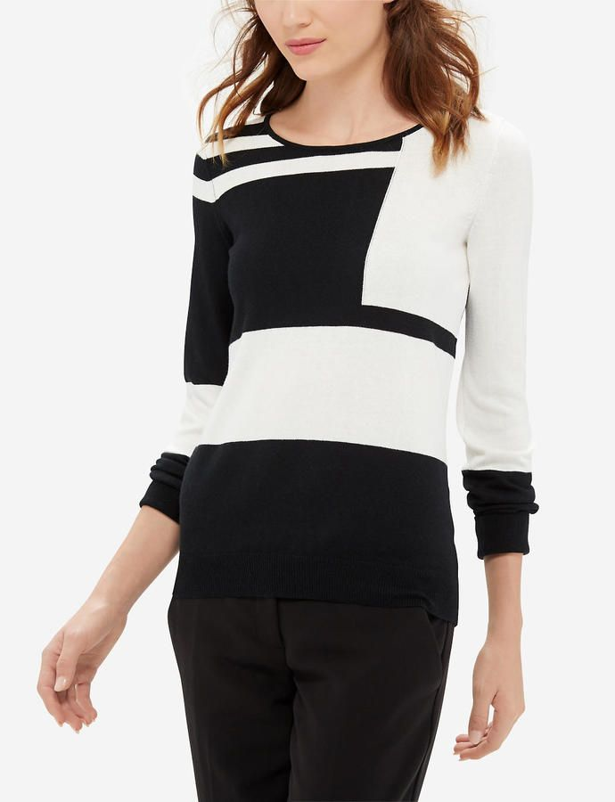 Colorblocked Sweater- $9.99