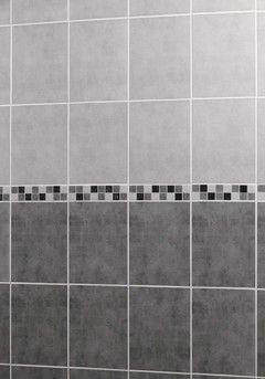 Faïence LOFT gris clair rectangulaire 25x33 cm Ep. 7,5 mm ...