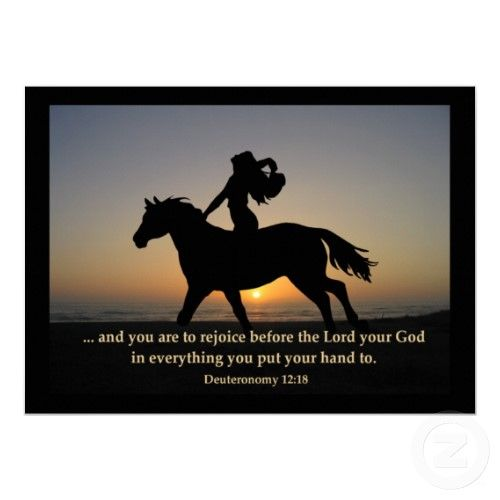 Horse w/ bible verse | Horse riding quotes, Horse quotes, Horses
