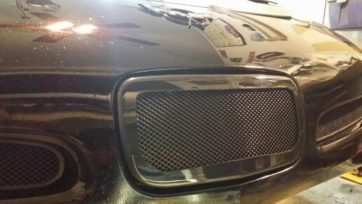 Dress Up Your C5 Corvette With Our Galvanized Front License Plate Filler Mesh This Is Designed To Fit All 1997 2004 Corv 2004 Corvette Corvette Chevy Corvette