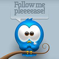 Create a Cute Twitter Bird Icon in #Photoshop