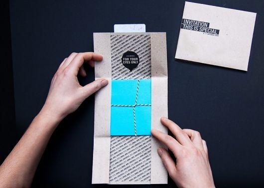 I also like the idea of something thatu0027s a progressive unveiling - invitation unveiling