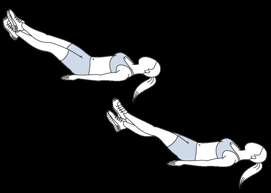 Упражнения ножницы в картинках
