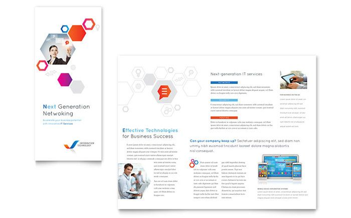 Free Tri Fold Brochure Template - Download Tri Fold Brochure - free pamphlet