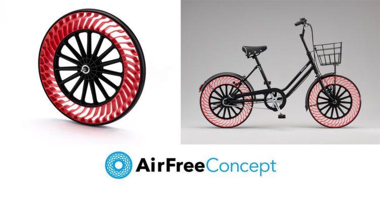 Luftfreie Fahrradreifen Fur Pannenfreie Fahrt Fahrradreifen