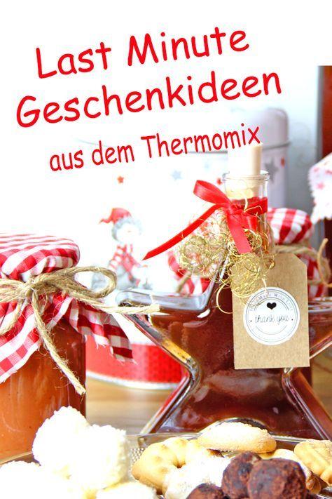 Selbstgemachte Geschenkideen für Weihnachten - dieHexenküche.de |  Rezeptideen für den Thermomix TM5 #kleineweihnachtsgeschenkekollegen