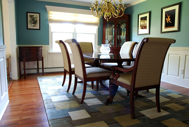 Superb Wainscoting Dining Room Ideas Part - 3: Living Room Ideas With Wainscoting | ... Dining Room In Fairfield NJ.  Wainscoting