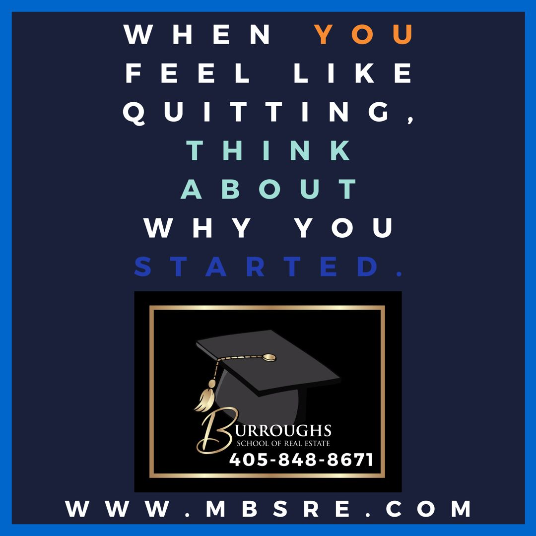 Never give up in 2020 Real estate school, Real estate
