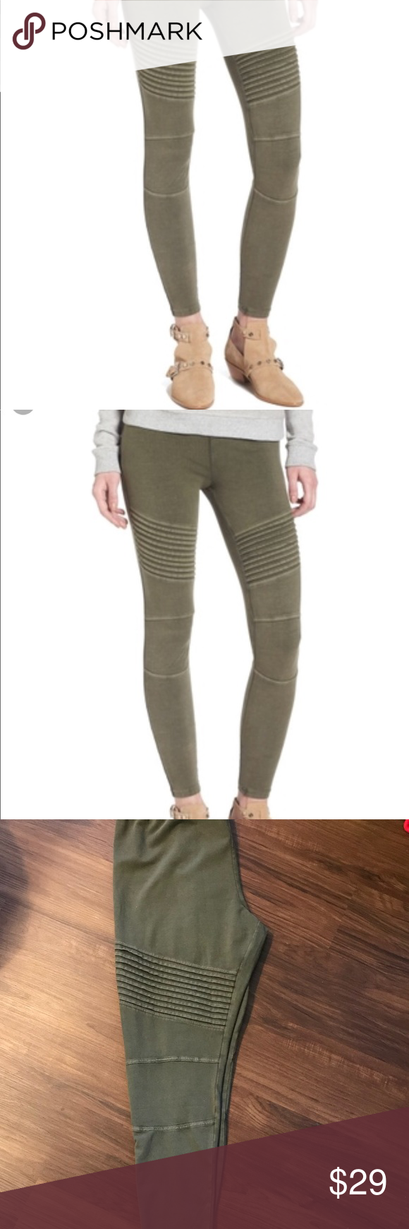 993d9ad96ec BP PLUS SIZE Moto Legging in Green NWT Perfect condition. NWT. Soft  comfortable and stylish! Size is XXL which according to size chart from  Nordstrom is ...