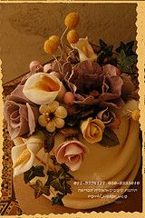Flowers Corsage cake