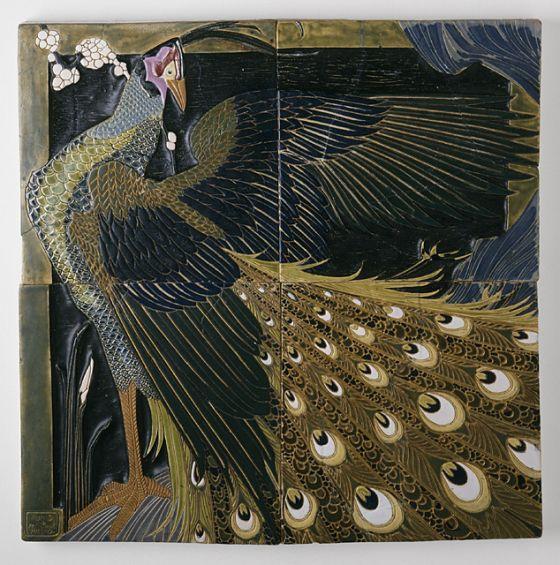 Tile Plaque. United States, 1909-1911.