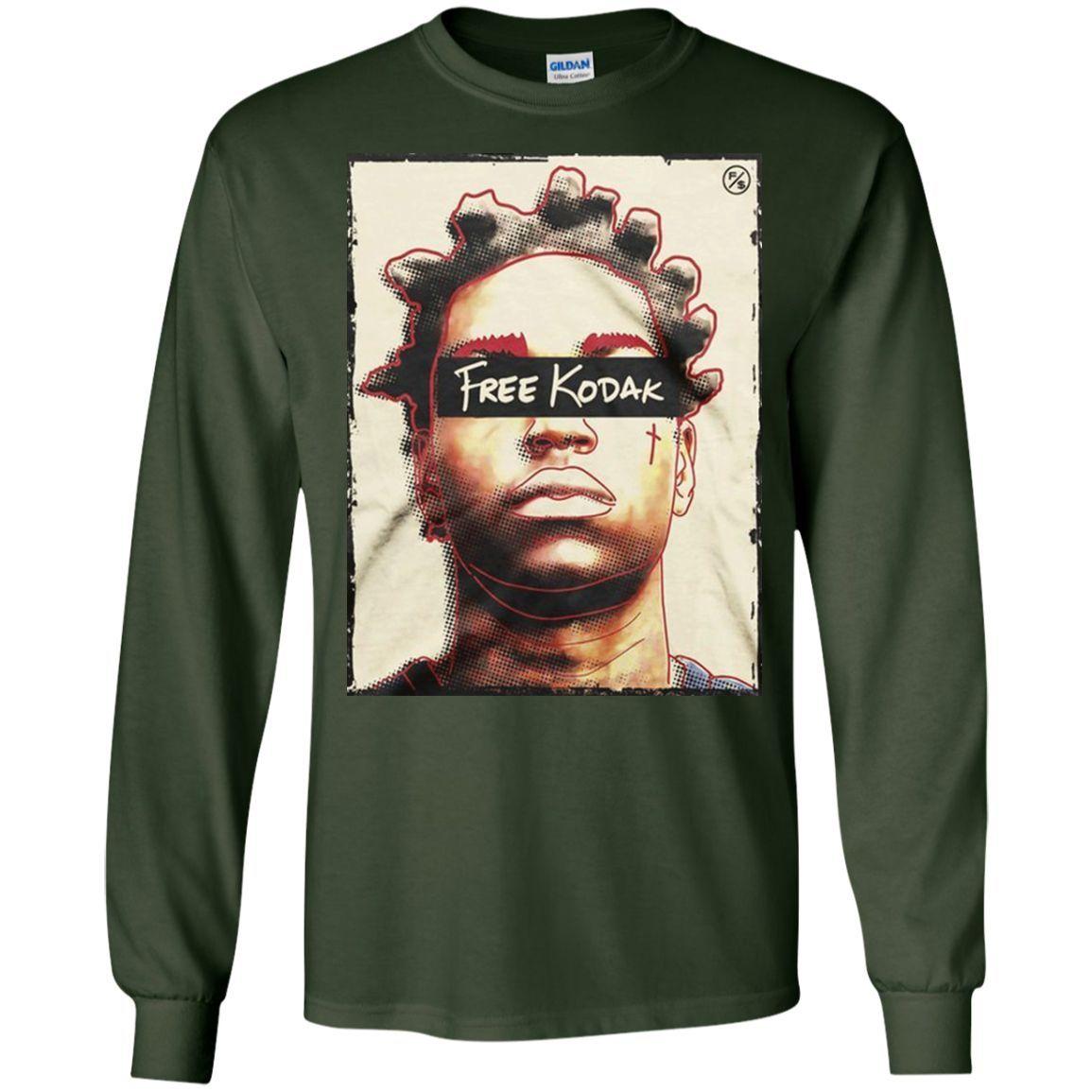 37b4f79f6 free-kodak-black,-kodak-black LS Ultra Cotton Tshirt   Products ...