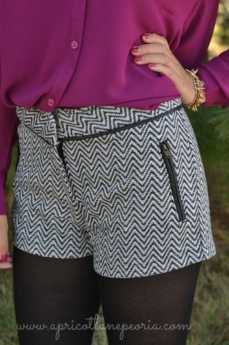 Chevron Winter Short, $28.00, Also available in our Normal, IL location