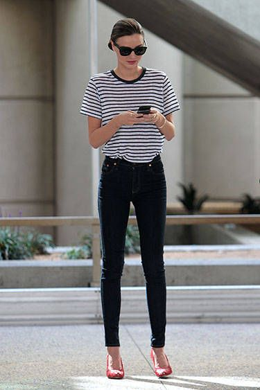 Spring Summer Fall And Winter Miranda Kerr Has The Best Street Style No Matter What Season See Some Of Her Best Looks Here