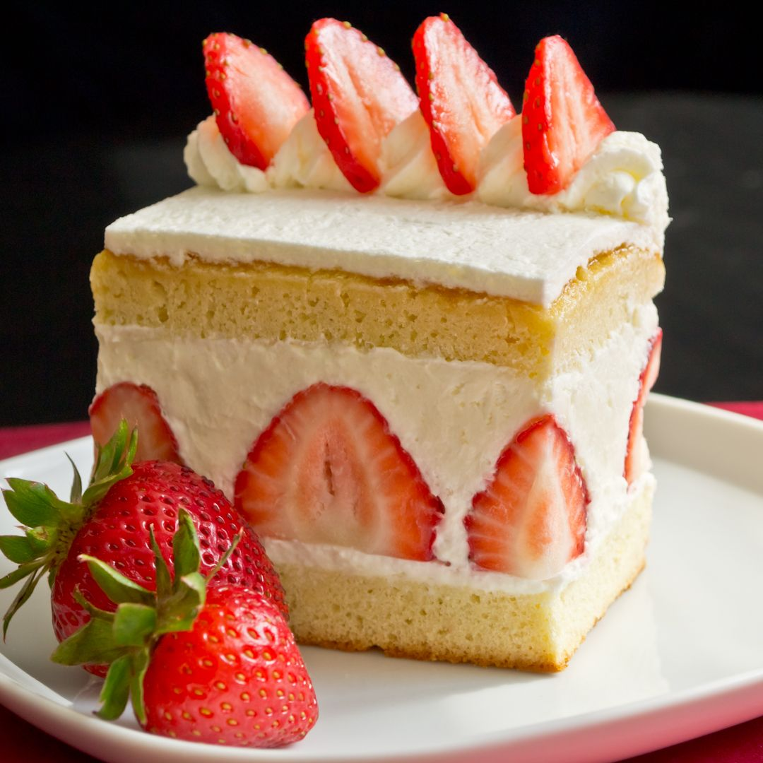 Japan strawberry cake recipe