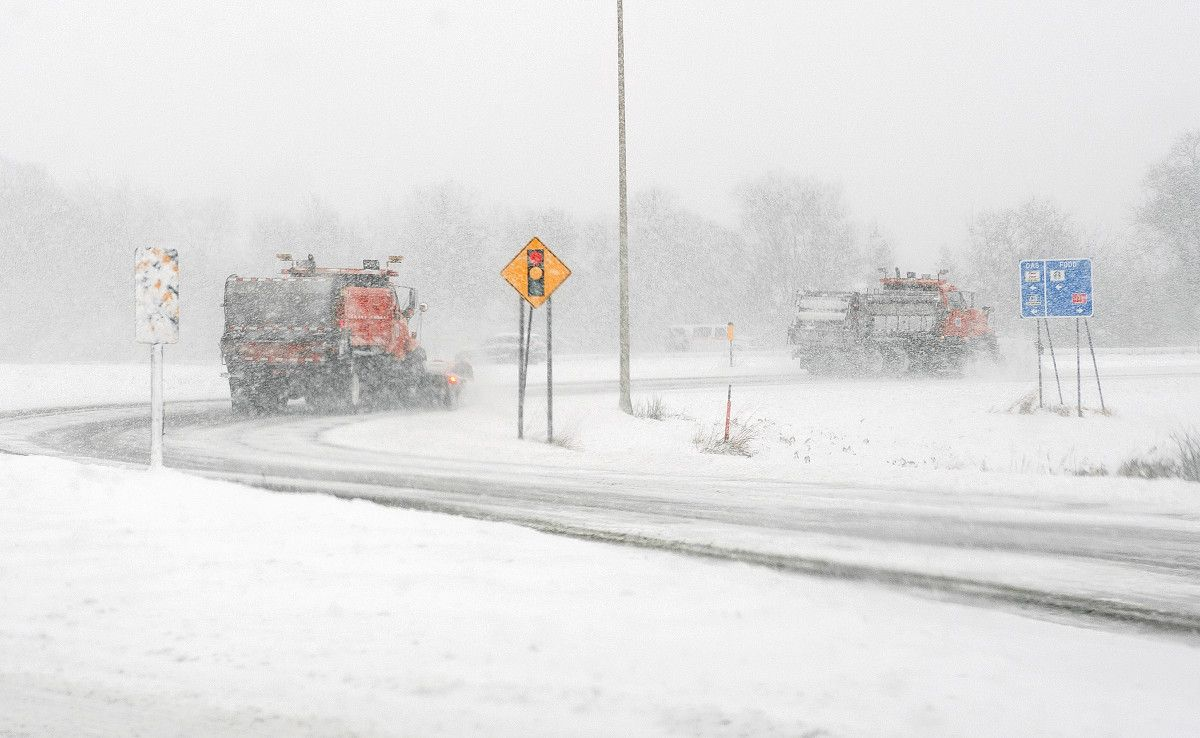 Snowstorm arrives friday how much snow for your area