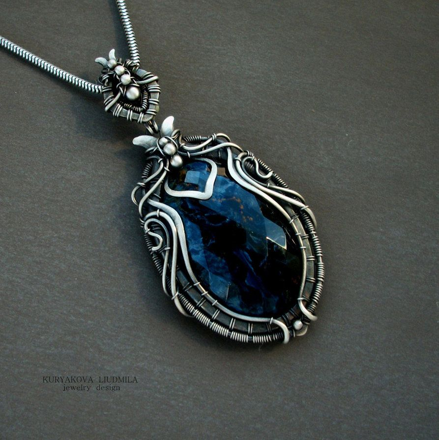 Scarab by kl wiredreamiantart on deviantart jewelry wire wrapping tutorial baditri Images